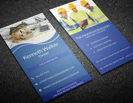 #9 for design double sided business cards - construction by Nabab1993