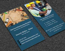#31 for design double sided business cards - construction by MDSUMONSORKER