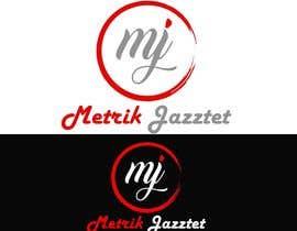 #336 pentru Metrik Jazztet Logo de către aqibali087