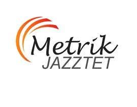 #338 pentru Metrik Jazztet Logo de către aqibali087