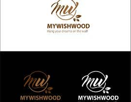 Nro 210 kilpailuun Logo Design - Mywishwood.com käyttäjältä conceptmagic