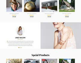 #6 for 1 page home page design by prowebdesigner96