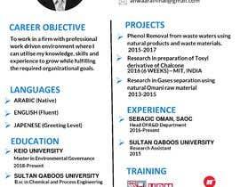 #5 for My CV, Graphic design av prakash2812cbhag