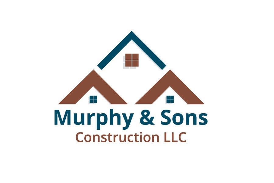 Bài tham dự cuộc thi #                                        9                                      cho                                         Design a Logo for Murphy & Sons Construction LLC