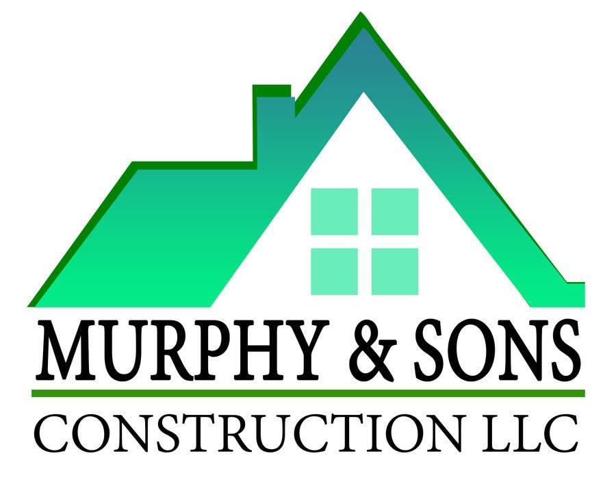 Bài tham dự cuộc thi #                                        15                                      cho                                         Design a Logo for Murphy & Sons Construction LLC
