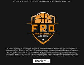 #124 for Basketball Logo Redesign af bijoy1842