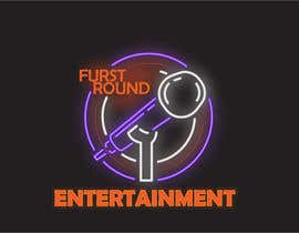#4 untuk Logo for First Round Entertainment  Detroit fist with microphone in hand and have first round on top and entertainment on bottom oleh TasnimMaisha
