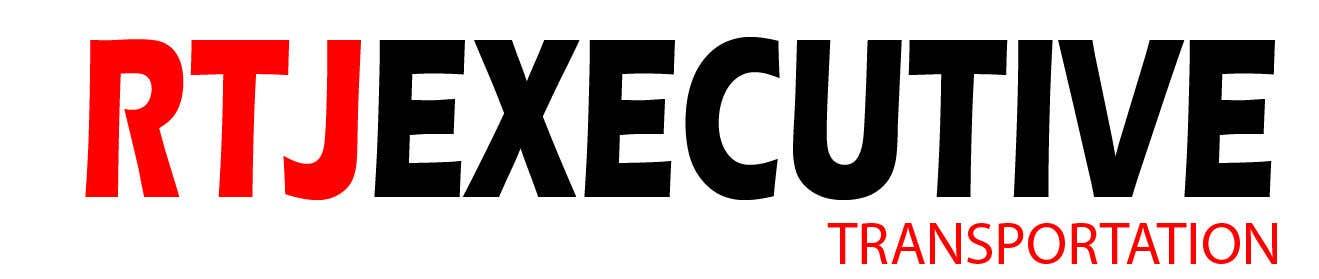 "Конкурсная заявка №23 для I need a logo for my limo company. We use SUVs (Yukon XLs and Suburbans) Our company name is ""RTJ Executive Transportation"" We are a black tie car service."