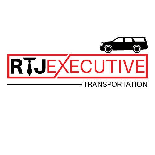 "Конкурсная заявка №33 для I need a logo for my limo company. We use SUVs (Yukon XLs and Suburbans) Our company name is ""RTJ Executive Transportation"" We are a black tie car service."