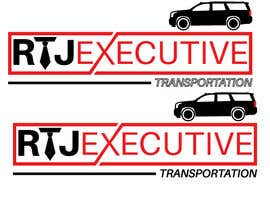 "#34 for I need a logo for my limo company. We use SUVs (Yukon XLs and Suburbans) Our company name is ""RTJ Executive Transportation"" We are a black tie car service. by kksaha345"