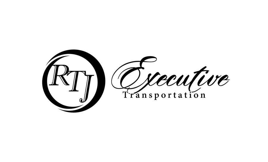 "Конкурсная заявка №30 для I need a logo for my limo company. We use SUVs (Yukon XLs and Suburbans) Our company name is ""RTJ Executive Transportation"" We are a black tie car service."
