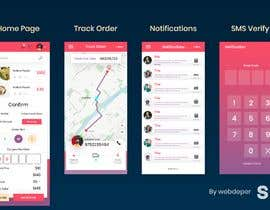 #44 for design a UI for a new mobile app by webdeper