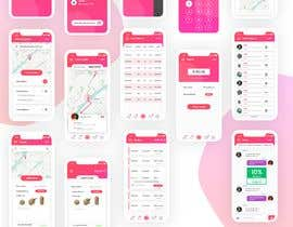 #70 for design a UI for a new mobile app by webdeper