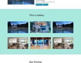 #17 untuk Website Design & Layout - 2 Page Design oleh mdraihan17