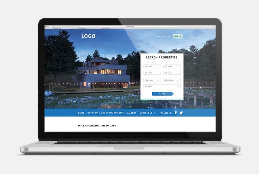Penyertaan Peraduan #11 untuk Website Design & Layout - 2 Page Design