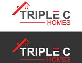 Nro 124 kilpailuun Logo Design for Triple C Homes käyttäjältä kawsermia75580