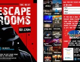 #60 para Design A6 flyer for an escape room review website por Igniter11