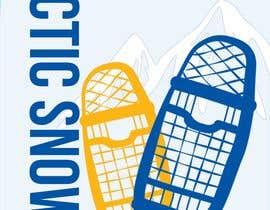 #11 for Arctic Snowshoe Race: design for beach flag/banner af badriaabuemara