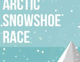 #15 for Arctic Snowshoe Race: design for beach flag/banner af badriaabuemara