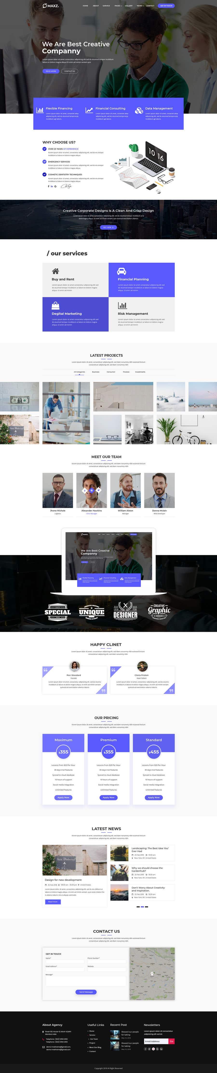 Kilpailutyö #18 kilpailussa Website Design Company Website Needed...haha