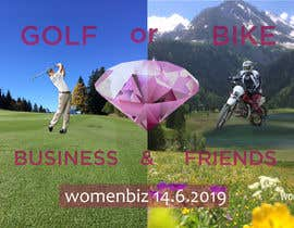 #84 untuk Design Logo Golf or Bike Event oleh anikhasanbappy