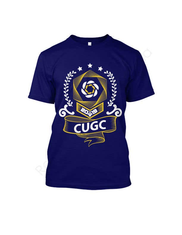 Kilpailutyö #83 kilpailussa Create a new  design for CUGC tshirt