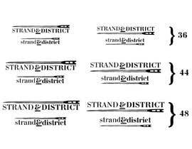 #9 for Strand and district logo by eifadislam