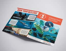 #13 для Bi-fold Flyer for tourist sea activities от zinebzeno