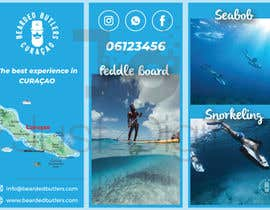 #4 для Bi-fold Flyer for tourist sea activities от JUSTDIGITALPVT