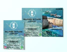 #12 для Bi-fold Flyer for tourist sea activities от drnadim174