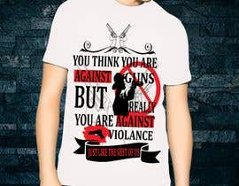 #87 for Anti Violence T-shirt design af designerforida