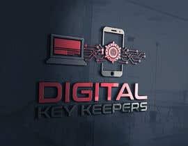 Nro 346 kilpailuun Cutting edge logo for   Digital Key Keepers käyttäjältä zouhairgfx