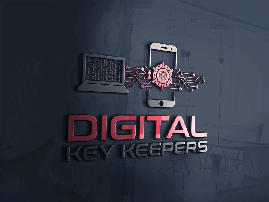 Kilpailutyö #356 kilpailussa Cutting edge logo for   Digital Key Keepers