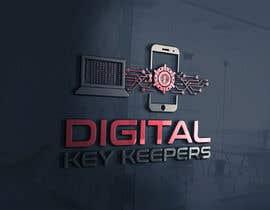 Nro 356 kilpailuun Cutting edge logo for   Digital Key Keepers käyttäjältä zouhairgfx