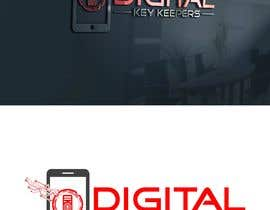 Nro 305 kilpailuun Cutting edge logo for   Digital Key Keepers käyttäjältä jaynulraj