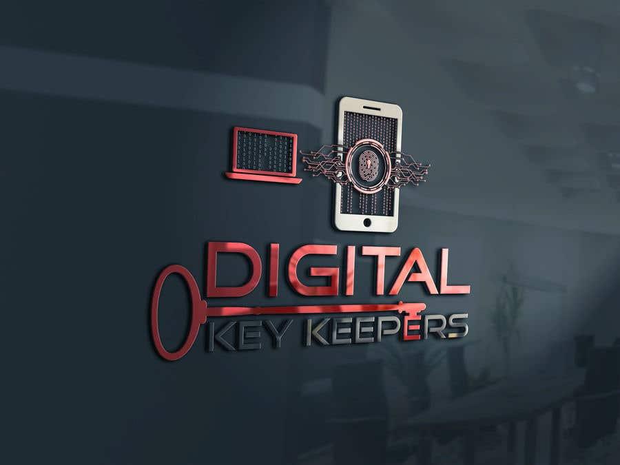 Kilpailutyö #363 kilpailussa Cutting edge logo for   Digital Key Keepers