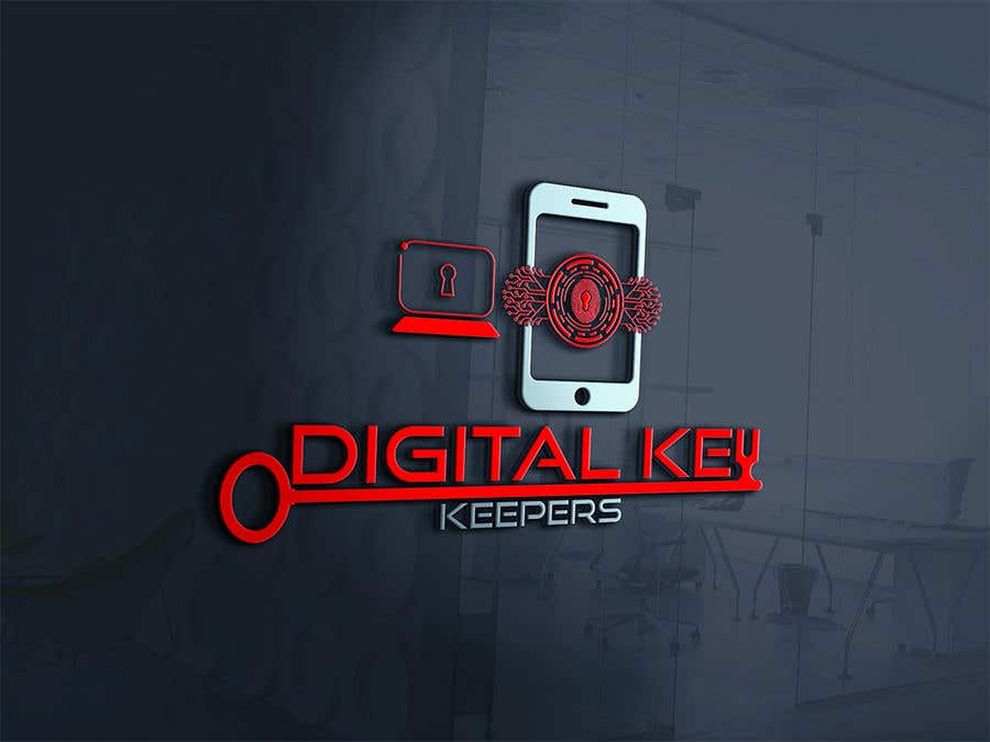 Kilpailutyö #351 kilpailussa Cutting edge logo for   Digital Key Keepers