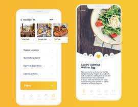 #8 for design Mobile app for parcel delivery & food delivery by Bridge10