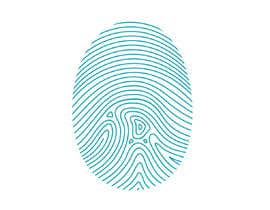 #49 untuk I want you to add the shape of coffee bean to the original fingerprint photo.. so I expect a curved line in the middle of the fingerprint . Please keep the multicolors as it is oleh RainbowD