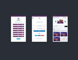 nº 2 pour Design 6 pages from an app par mohammadmusaddek