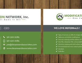 #67 for Business card for a handicap home modification construction company af petersamajay