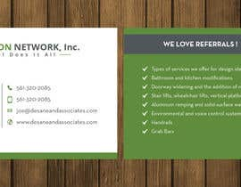 #89 for Business card for a handicap home modification construction company af petersamajay
