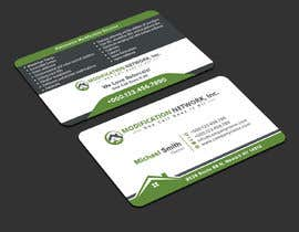 #133 for Business card for a handicap home modification construction company af iqbalsujan500