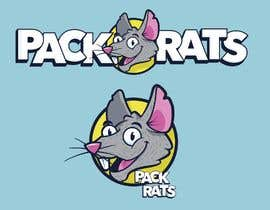 #132 for Logo for company called Pack Rats af EdgarxTrejo