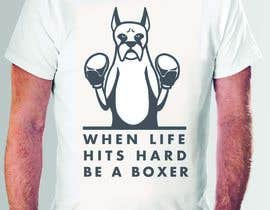 #120 pentru I need a logo/drawing of a boxer dog, mainly to print on clothing and merchandise. See description in post. de către DavK7