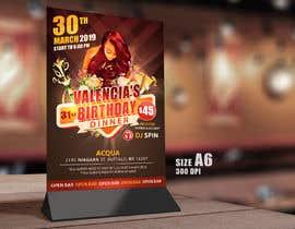 Nro 12 kilpailuun design birthday flyer käyttäjältä samadhi14