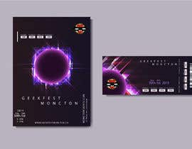 #4 cho Geek Flyer and Ticket Design Needed - 18/02/2019 14:10 EST bởi casandrazpran