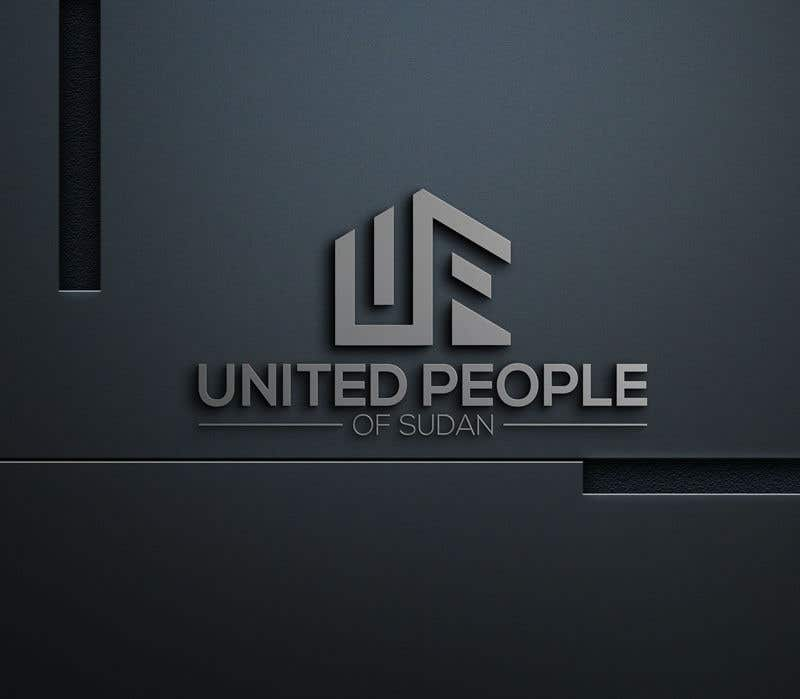 Kilpailutyö #42 kilpailussa LOGO FOR UNITED PEOPLE OF SUDAN