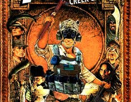 """#9 for Modify the movie poster attached. change where it says """"of the lost ark"""" into """"1st PLT, Creek Company"""". Put a rifle put into his left hand, hatchet in his right hand, A helmet on his head,a plate carrier put on over his shirt. Attached are photos to use by Joelsingh98"""