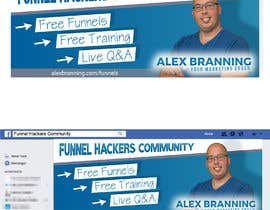 #20 for Facebook Group Cover Photo for Funnel Hackers Community by nicoleplante7